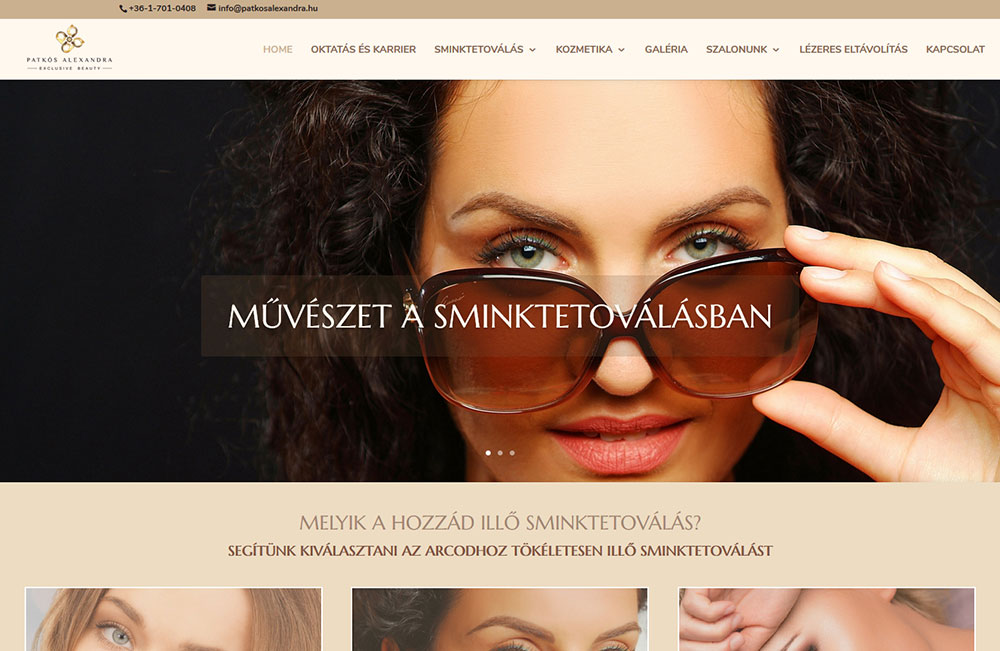Patkós Alexandra Exclusive Beauty