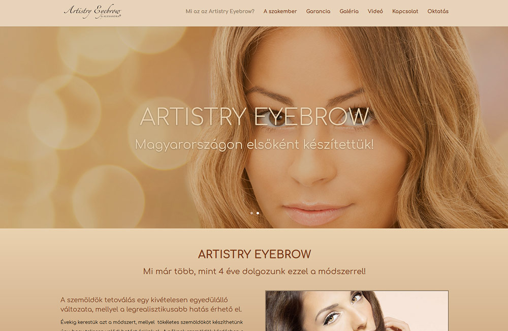 Artistry Eyebrow