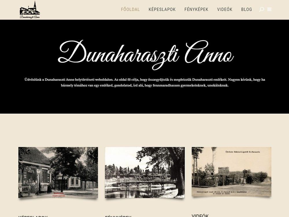 Dunaharaszti Anno