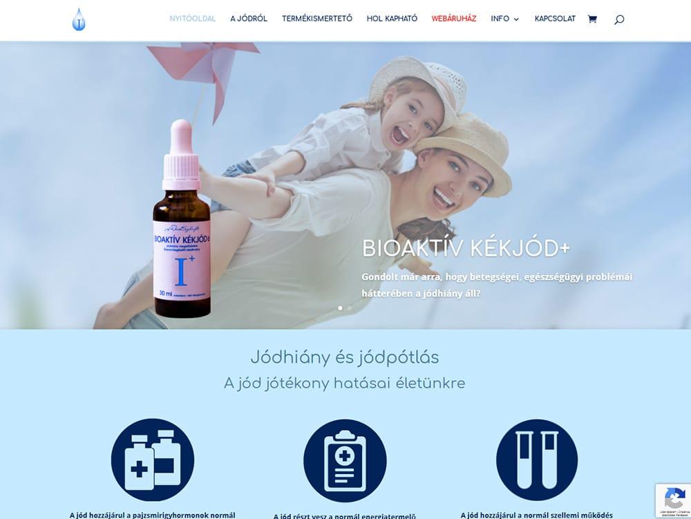 Bioaktív Kékjód+