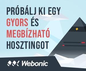 Webonic tárhely